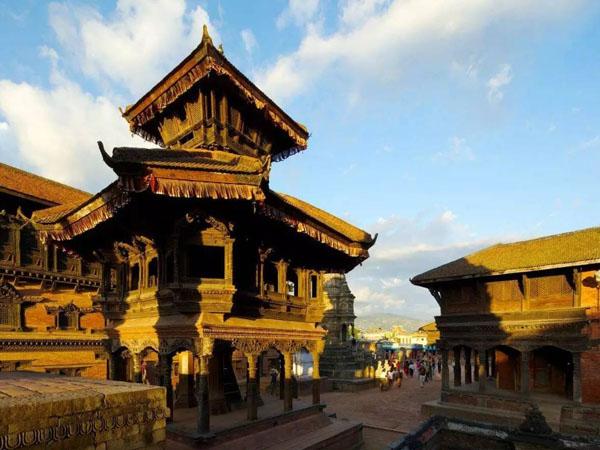 加德满都杜巴广场 :尼泊尔世界人类文化遗