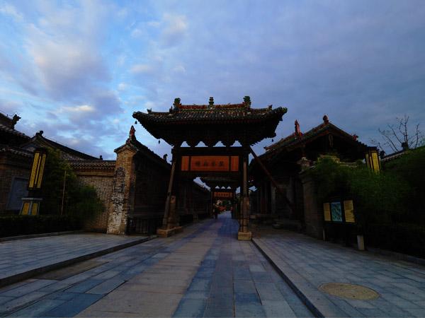 韩城古城:东带黄河,龙门胜地