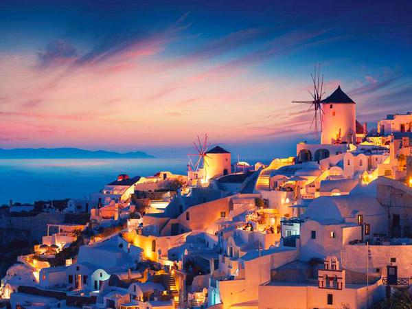 追梦圣托里尼,希腊九日自驾游